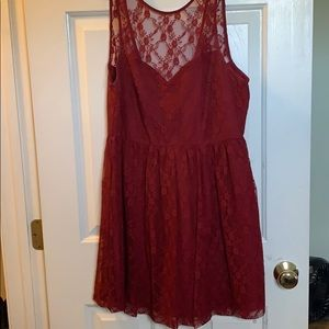 Forever 21 Mini-Dress with Lace